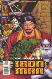 Iron Man #4 Christmas Variant Volume 2 (1996 Series) Marvel Comics